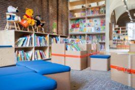 Realisatie van vernieuwde bibliotheekinrichting voor...